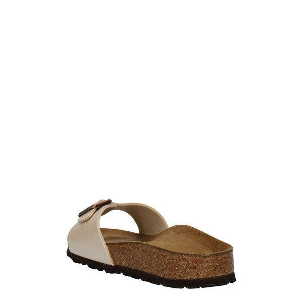 Birkenstock Shoes Woman SANDALS White 0940