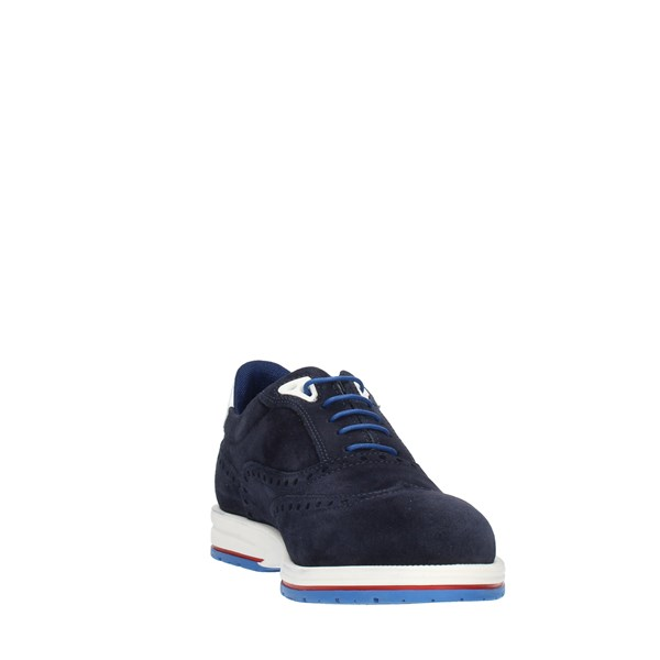 Harmont & Blaine Shoes Man LACE Blue E3085
